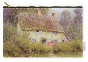 A Country Cottage Carry-all Pouch by Helen Allingham