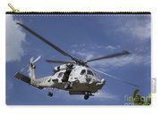 A Crew Chief Looks Out The Side Door Carry-all Pouch by Michael Wood