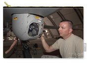 A Crew Chief Works On Mq-1 Predators Carry-all Pouch