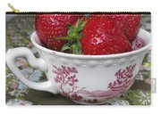 A Cup Of Strawberries Carry-all Pouch