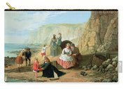 A Day At The Seaside Carry-all Pouch by William Scott