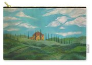 A Day In Tuscany Carry-all Pouch by John Keaton