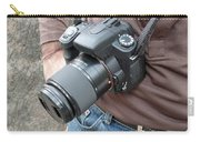 A Digital Camera Is The Chief Tool Of This Photographer Carry-all Pouch
