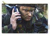 A Dutch Patrol Commander Communicates Carry-all Pouch