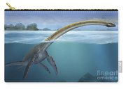 A Elasmosaurus Platyurus Swims Freely Carry-all Pouch