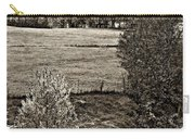 A Far Valley Sepia Carry-all Pouch