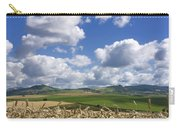 A Field Of Barley . Auvergne. France Carry-all Pouch