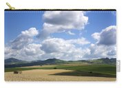 A Field Of Wheat Auvergne. France Carry-all Pouch