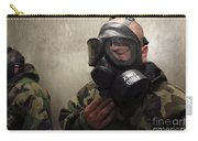 A Field Radio Operator Clears Cs Gas Carry-all Pouch