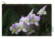A Flight Of Orchids Carry-all Pouch