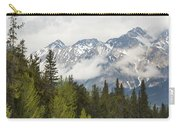 A Forest And The Rocky Mountains Carry-all Pouch