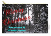 A Forest Christmas Carry-all Pouch