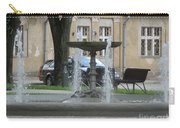 A Fountain In Silute Lithuania Carry-all Pouch