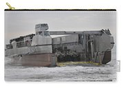 A French Landing Craft Comes Ashore Carry-all Pouch