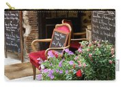 A French Restaurant Greeting Carry-all Pouch