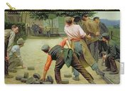 A Game Of Bourles In Flanders Carry-all Pouch