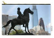 A General And His Horse In Philly Carry-all Pouch