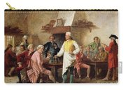 A Gentleman's Debate Carry-all Pouch by Benjamin Eugene Fichel