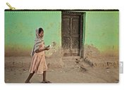 A Girl By A Door Carry-all Pouch