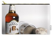 A Glass Of Fursty Ferret Carry-all Pouch