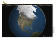 A Global View Over North America Carry-all Pouch