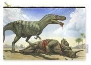 A Gorgosaurus Libratus Stands Carry-all Pouch