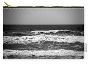 A Gray November Day At The Beach - II  Carry-all Pouch