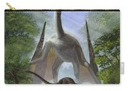 A Group Of Balaur Bondoc Dinosaurs Carry-all Pouch
