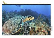 A Hawksbill Turtle Swims Carry-all Pouch