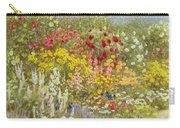 A Herbaceous Border Carry-all Pouch