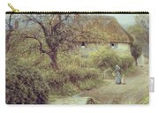 A Hill Farm Symondsbury Dorset Carry-all Pouch by Helen Allingham