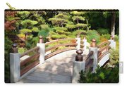 A Japanese Garden Bridge From Sun To Shade Carry-all Pouch
