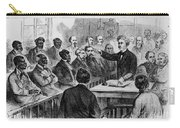 A Jury Of Whites And Blacks Carry-all Pouch