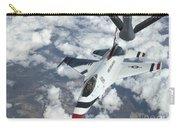 A Kc-135 Stratotanker Refuels An Air Carry-all Pouch