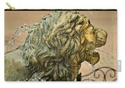 A Lion In Summer Carry-all Pouch