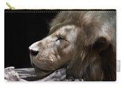 A Lions Portrait Carry-all Pouch