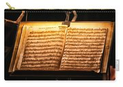 A Little Night Music Carry-all Pouch by Lauri Novak