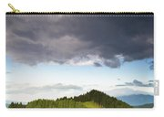 A Lush Green Landscape With Grassy Carry-all Pouch