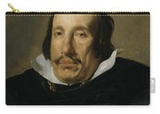 A Man Carry-all Pouch by Diego Rodriguez de Silva y Velazquez
