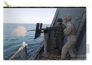 A Marine Fires A .50-caliber Machine Carry-all Pouch