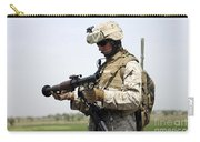 A Marine Looks At A Brand New Carry-all Pouch