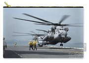 A Marine Mh-53 Helicopter Takes Carry-all Pouch