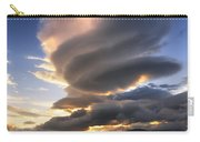 A Massive Stacked Lenticular Cloud Carry-all Pouch by Arild Heitmann
