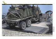 A Medium Tactical Vehicle Replenishment Carry-all Pouch