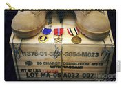 A Memorial Dedicated To An Airman Who Carry-all Pouch by Stocktrek Images