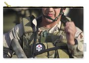 A Military Reserve Navy Seal Gives Carry-all Pouch