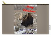 A Moose Christmas Wish Carry-all Pouch