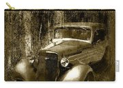 A More Elegant Time In Sepia Carry-all Pouch