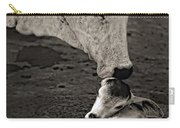 A Mother's Love Monochrome Carry-all Pouch