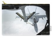 A Navy Fa-18f Super Hornet Is Refueled Carry-all Pouch by Stocktrek Images